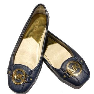 Michael Michael Kors• Fulton Leather Flat Loafer•8